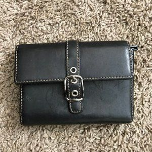 Coach Women's Black Wallet